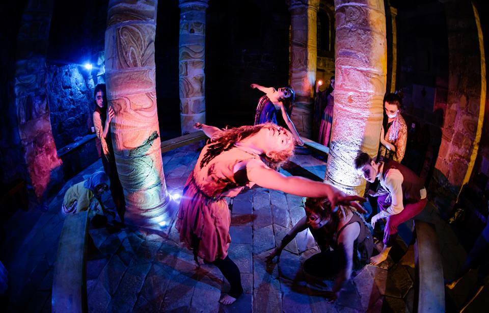 Ethrael Theatre's The Furies at the Norman Chapel | Photograph: Jed Wee