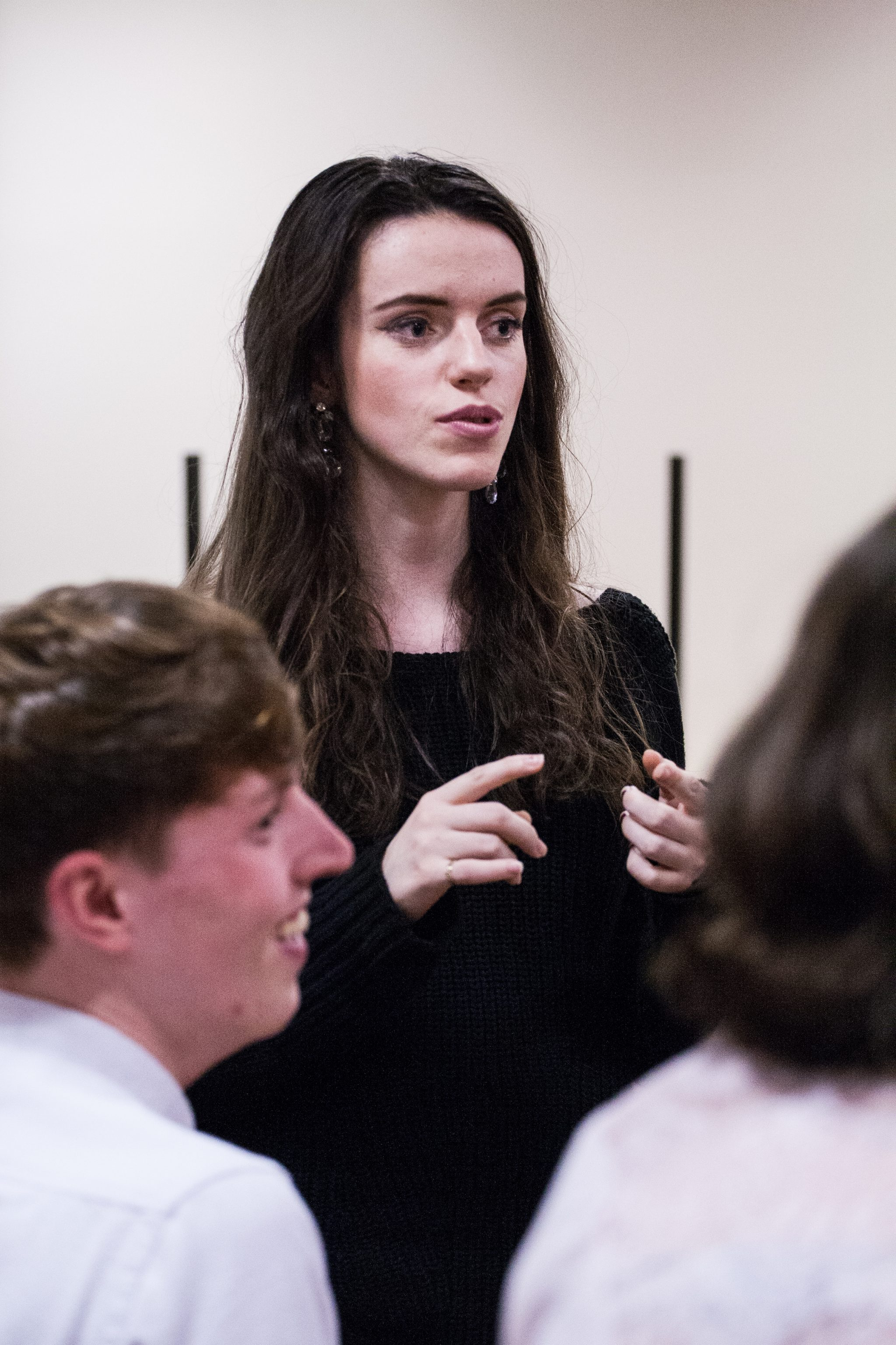 Rehearsals for Pitch Productions' Miss Julie | Photograph: Samuel Kirkman